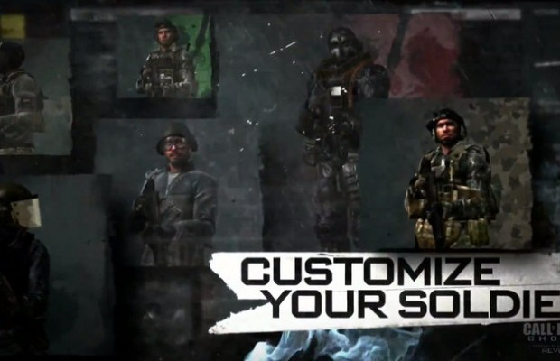 Plenty of Customization Call Of Duty Ghosts Character Creation