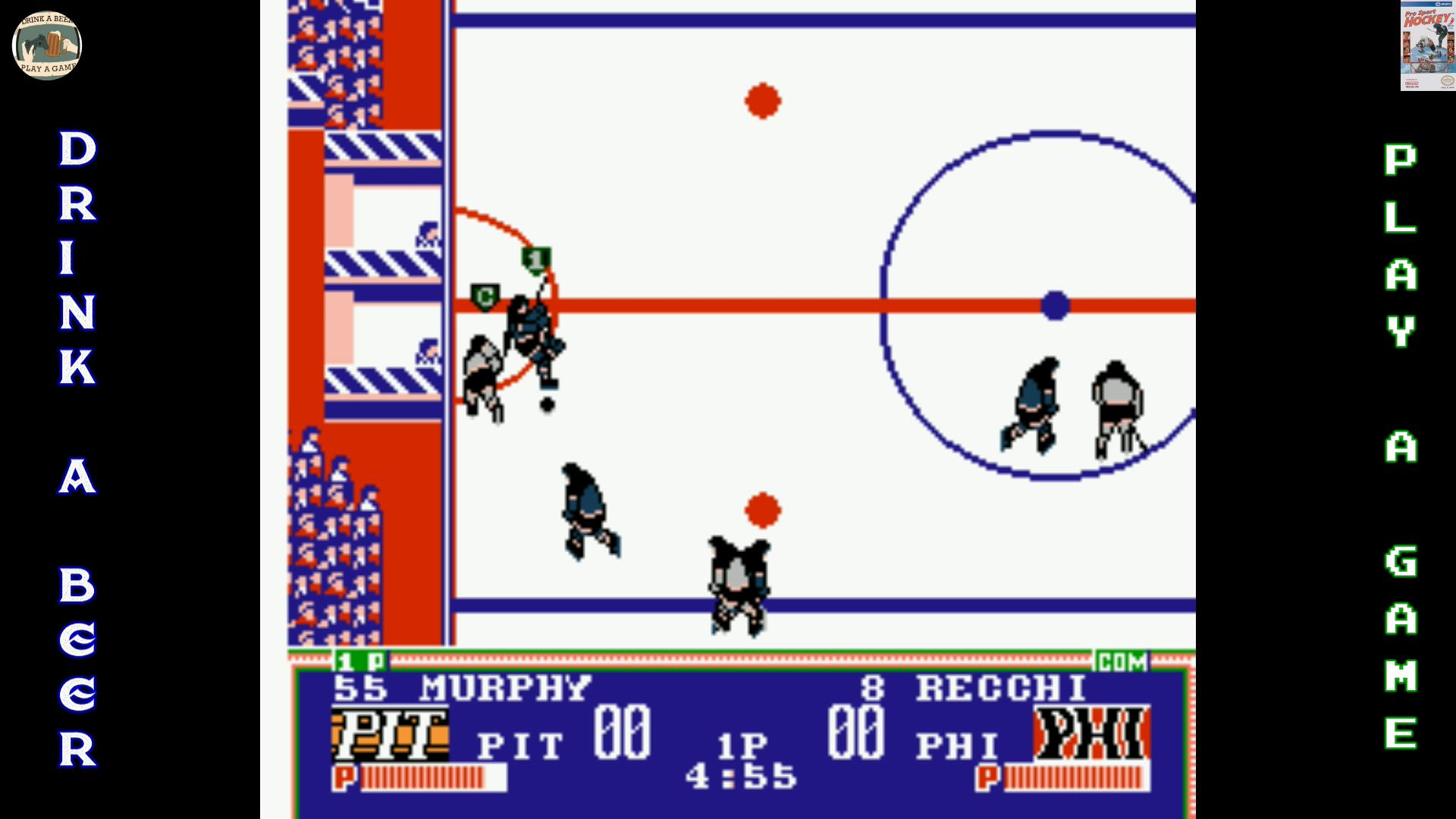 Nes Ice Hockey Fight Psh