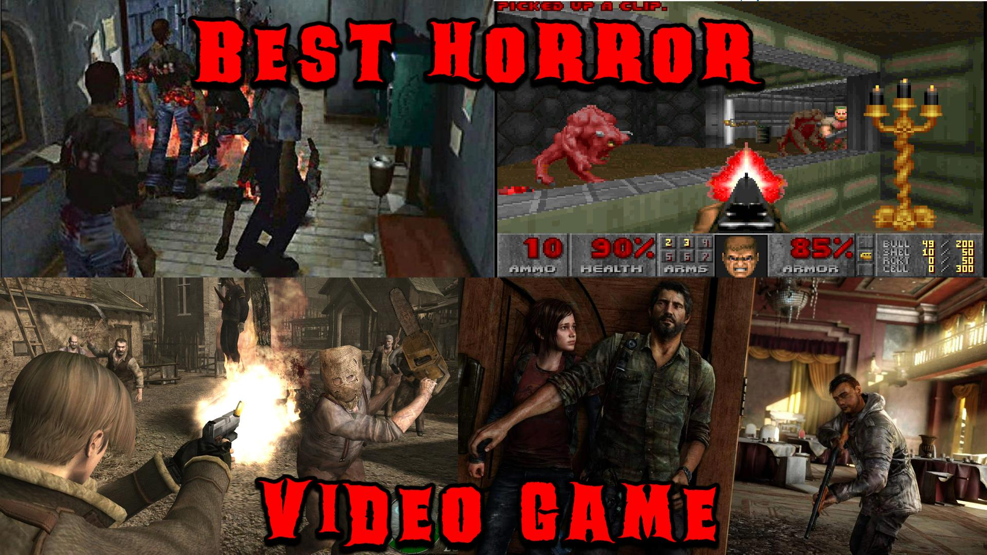 Best Horror Video Game Bracket Final | Drink a Beer and Play